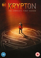 Krypton: The Complete First Season DVD (2019) Cameron Cuffe cert 15 2 discs