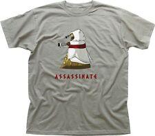 Assassins Creed Dalek Exterminate Zinc parody funny printed cotton t-shirt 9681