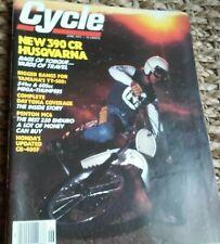 Cycle June 1977 Husqvarna 390CR Yamaha TT500 Penton 250 MC6 Honda CB400F Daytona