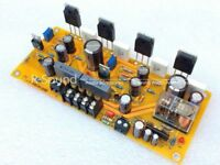 1pc NJW0281G 1969 Pure Class A Mono Power Amplifier board parallel HIFI Amp DIY