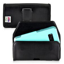 Galaxy S8 Plus Holster Black Belt Clip Otterbox Commuter  Leather Turtleback
