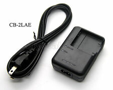 Battery Charger for Canon CB-2LAC PowerShot PC1589 PC1474 PC1585 PC1475 PC1590