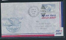 04099) TWA FF Detroit AMF - Frankfurt 1.6.51