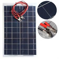 30W 12V Flexible Semi Solar Panel +12V/24V Solar Controller For RV Boat