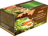 Ceylon Cinnamon Tea 100 TeaBags. 5 Boxes, 200 Grams -A fabulous aroma and taste