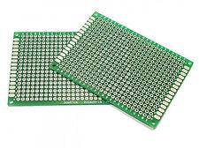 Double-Sided 50mm x 70mm Matrix PCB Proto Circuit Board 5x7cm Fibre Glass - UK