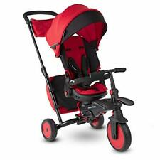 smarTrike 7J Folding Baby Tricycle Red