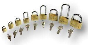 PADLOCKS - KEYED ALIKE - (SAME KEY) HIGH SECURITY  sizes 20mm - 60mm L/S OPTIONS