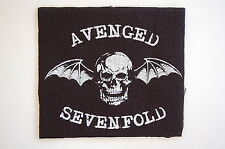 "Avenged Sevenfold Cloth Patch Sew On Badge Metal Rock Approx 4""X4"" (CP238)"