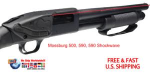 LS-250 LASERSADDLE RED LASER SIGHT FOR MOSSBERG 500/590 12 & 20 GAUGE SHOTGUNS