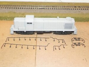 Kato HO RS3 Powered Diesel Locomotive Undecorated Does Not Run