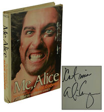 Me, Alice ~ SIGNED by ALICE COOPER ~ First Edition 1st Print 1976 Steven Gaines
