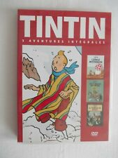 DVD Tintin/L'oreille cassée/L'Ile noire/Le sceptre d'Ottokar Ed. Casterman 2009