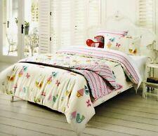 KAS KOOKY Tweet Birds Folk Single Bed Quilt Doona Cover