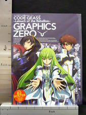 CODE GEASS Lelouch Character Illustration Book GRAPHICS ZERO w/Poster 97*