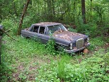 1968 Mercedes Benz 250S  For Parts Only W108 W109 - Incomplete & Not Running