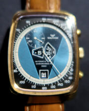 Rare Swiss Waltham Jump Hour Automatic Watch