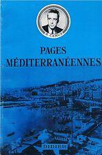 CAMUS PAGES MEDITERRANEENNES + PARIS POSTER GUIDE