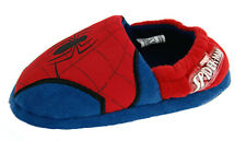 Spiderman Boys Cushioned Slippers Marvel Kids Full House Shoes Superhero Size