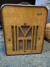 Vega Commander Amplifier, 1940s, Used. Maple. Tested and works perfectley