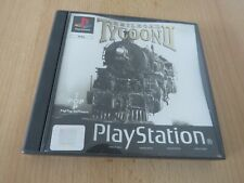 Railroad Tycoon 2 II PS1 Sony Playstation1 pal version