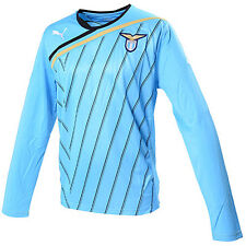 Puma S. S. Lazio Roma camiseta [ Talla S ] Suéter de manga larga maillot azul