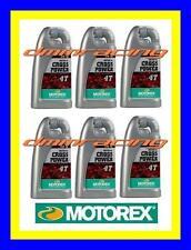 6 Litri Olio Motore 4 tempi MOTOREX Cross Power 4T 10W/60 100% Sintetico KTM 6LT