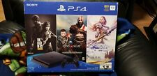 Sony Playstation 4 PS4 Slim 1TB Console - Jet Black Plus 3 Games Brand new
