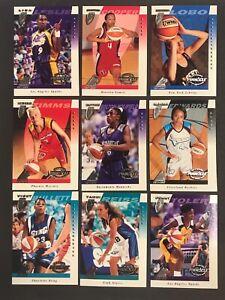 1997 Pinnacle WNBA Basketball 81 Card Inaugural Edition Set. Historical!