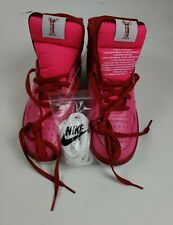 Nike Women Sweet Pink High Top Lace Up Size 8.5