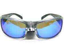 STRIKE KING S11 Optics Gray Metallic OKEECHOBEE Blue POLARIZED Lens Sunglasses!