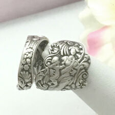 Sterling Madonna,Child Silver Spoon Ring Silverware Jewelry Custom Sz,VERSAILLES