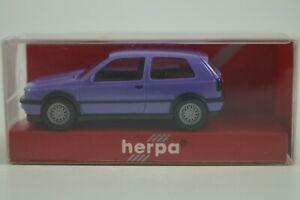 Herpa Modellauto 1:87 H0 VW Golf VR6 2türig Nr. 021180