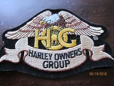 """HARLEY DAVIDSON HOG Harley Owners Group EAGLE  Patch EMBROIDERED 4 1/2 x 3"""""""
