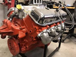 1969 Chevrolet Camaro, Chevelle, Nova 396 engine
