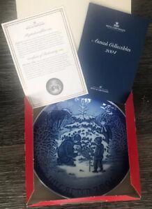 NIB, W/ CoA Bing & Grondahl 2004 Christmas Plate