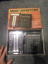 Ancien Mémo Répertoire Numéro Téléphone Calendrier Perpétuel Vintage Années 70