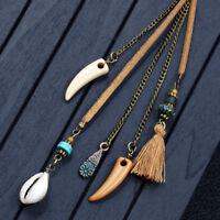 Women Fashion Elegant Tassels Earrings Long Hook Drop Dangle Bohemian Jewelry