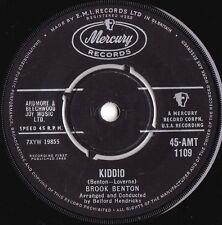 Brook Benton ORIG UK 45 Kiddio EX '60 Mercury AMT1109 R&B Pop Rock
