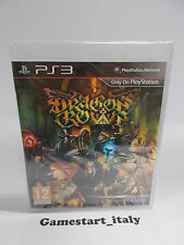 DRAGON'S CROWN - SONY PS3 - NUOVO SIGILLATO - NEW SEALED - PAL UK VERSION