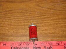 vintage plastic capacitors .1 mfd 4000 vdc high voltage glass case oil of40-104