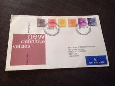 1976 New Definitive Values British First Day Cover Addressed