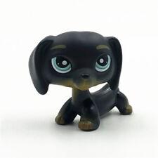 LPS Littlest Pet Shop Long Ears #325 Chien Teckel Black Dachshund Dog Kid Toys