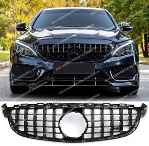 Mercedes C63 c63s GT Grille c205 w205 PANAMERICANA full gloss black SERIES AMG R