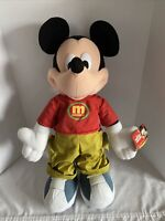 """Vintage Disney Mickey Mouse Toys R Us Exclusive By Fisher Price 24"""" Plush NWT"""