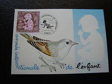 FRANCIA - tarjeta 1er día 6/1/1979 (año de la niño) (cy89) french