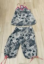 Liberty of London for Target Women's S  Sheer Blue Floral Pajama Set ~ NEW