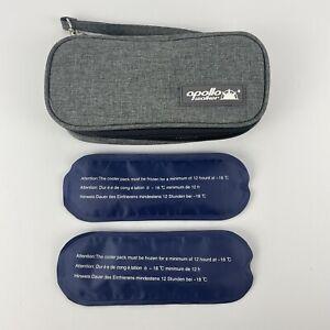 Medication Makeup Insulin Insulated Cooler Travel Case Zipper Ice Bag Wristlet