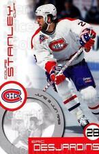 1999-00 Kraft Stanley Cup Moments Factory #4 Eric Desjardins