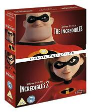 The Incredibles 1 & 2 Two Movie Collection Blu-Ray Brand New Free Shipping